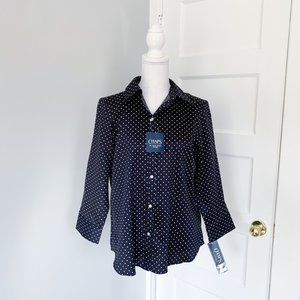 NWT | Chaps by Ralph Lauren | No Iron Fitted Shirt